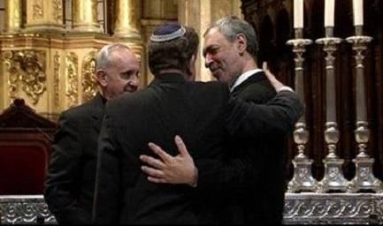 Bergoglio, el rabino Skorka y el imán Abboud