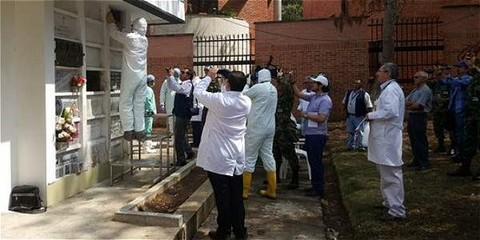 DESCANSE EN PAZ. Se encontraron los restos de Camilo Torres. El cura guerrillero tendrá una nueva sepultura, como solicitaron sus compañeros de armas del ELN, y la paz un nuevo impulso