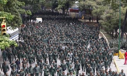 Maniobras militares en Venezuela