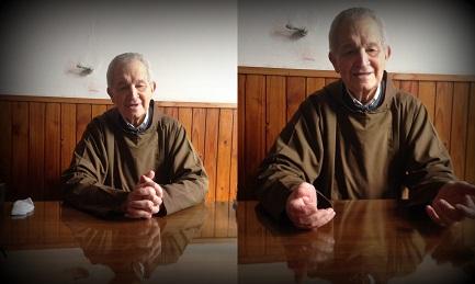 Luis Dri, 90 años, cuarto de diez hermanos de una familia del campo que siguieron todos ellos la vida religiosa