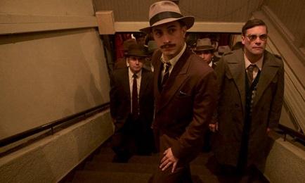 El perseguidor de Neruda en la película chilena de Pablo Larraín, interpretado por el actor mexicano García Bernal