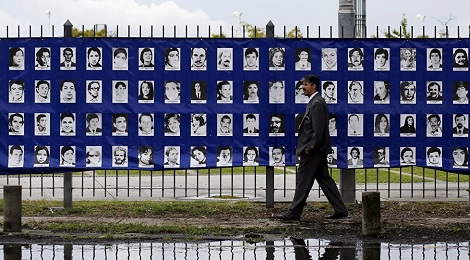 155 víctimas de la represión