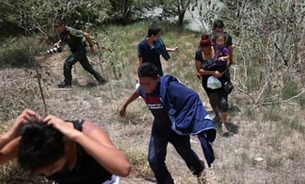 Niños migrantes. Foto Archivio ContraPunto