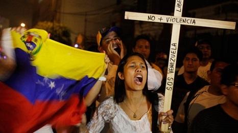 """ES UNA DICTADURA. Dura toma de posición de los jesuitas de Venezuela, que invitan a """"accionar a través de la protesta pacífica, sin armas, sin violencia y en resistencia al abuso del poder"""""""