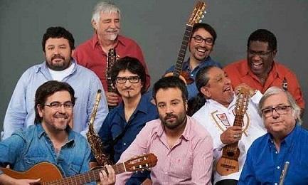 El grupo chileno como es hoy en una foto de Prensa Latina.