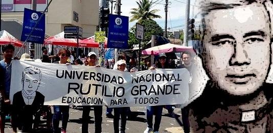 """EL SALVADOR. UNA UNIVERSIDAD PARA LUCHAR CONTRA LA VIOLENCIA. Tomará el nombre de """"Rutilio Grande"""", el sacerdote jesuita asesinado en marzo de 1977"""