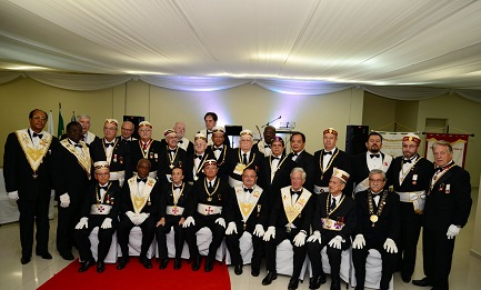 REVIVAL DE LA MASONERÍA EN PARAGUAY. Se reunieron en Asunción logias de 24 países. Almagro, Secretario General de la OEA, invitado especial