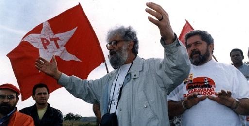 Boff y Lula en 1994. Otros tiempos…