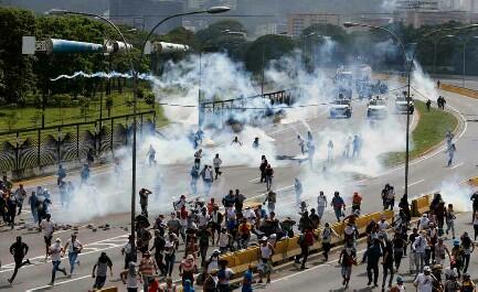 Días de furia (Foto AP)