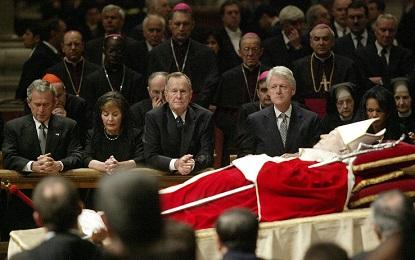 PAPAS Y PRESIDENTES DE ESTADOS UNIDOS EN LA HISTORIA. En 98 años, 6 Papas recibieron en el Vaticano, en 20 audiencias, a 13 presidentes