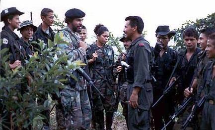 Miembros del Secretariado de las FARC y del ELN