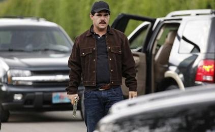 El actor mexicanoMarco della O durante la filmación (Foto AP)