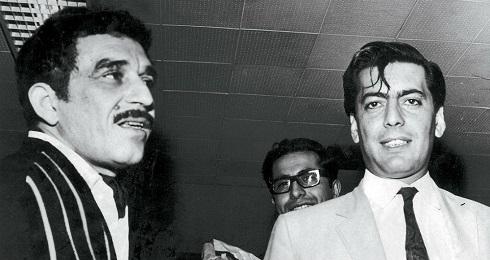 Foto de la juventud. García Márquez y Vargas Llosa. Archivo privado