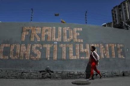 """FRAUDE CONSTITUYENTE.  Para el Vaticano, la elección de """"constituyentes"""" en Venezuela no tiene ningún valor. El cardenal Parolin afirmó que la solución de la crisis es otra"""