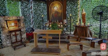 """LLEGA A MÉXICO LA """"VIRGEN DESATANUDOS"""". La hizo famosa el Papa Bergoglio y ahora quisieron reunirla con la popular Virgen de Guadalupe"""