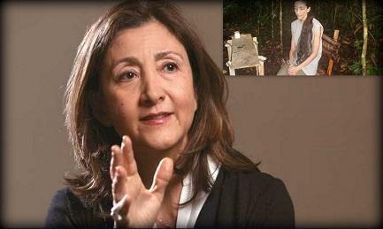 Ingrid Betancourt hoy. En el recuadro, una imagen de los años del secuestro (2002-2008)