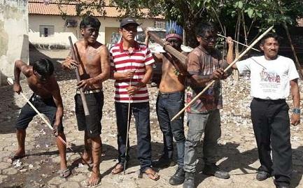 "Un grupo de ""Guardianes Guajajaras"" (Foto Guajajara Guardians)"