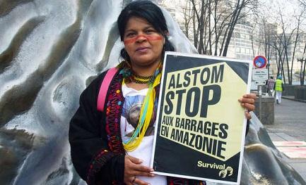 Sonia Guajajara, importante activista indígena (Foto Survival International).