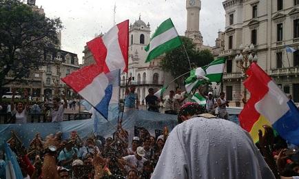 CUMPLEAÑOS PAPAL CON OBISPO VILLERO.  Bergoglio cumple ochenta y un años, y la Iglesia argentina festeja su primer obispo proveniente del corazón de una villa
