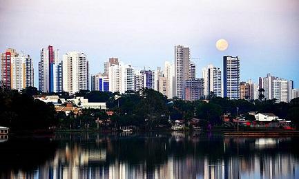 Vista de la ciudad de Londrinha, donde se reunirán las CEBs de Brasil