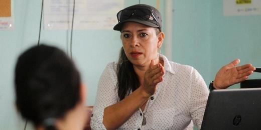 Mariela López en una fotografía de Guillermo Ossa-EL TIEMPO