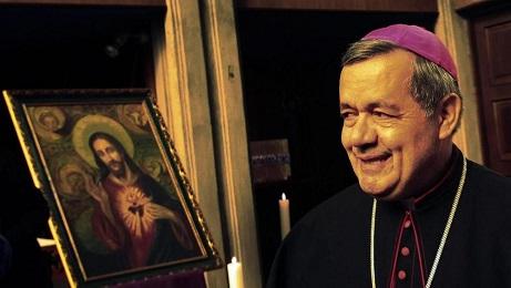 Juan Barros, obispo de Osorno, Chile