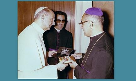 CASI OFICIAL: PABLO VI Y ROMERO SANTOS EN OCTUBRE. Fue Montini quien nombró obispo auxiliar de San Salvador al mártir salvadoreño