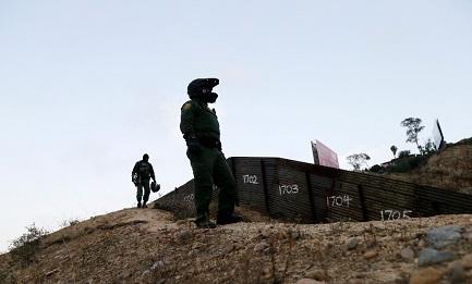Guardia Nacional en la frontera (Foto AP)