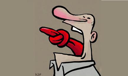 Una ilustración del caricaturista catalán Kap