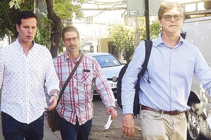 Juan Carlos Cruz, José Andrés Murillo y James Hamilton