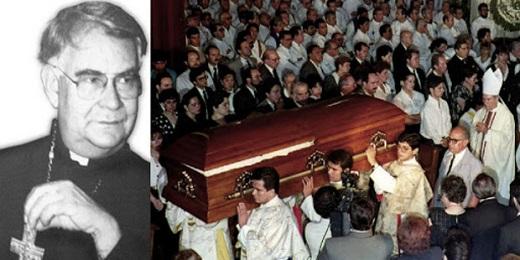 El funeral, el 27 de mayo de 1993