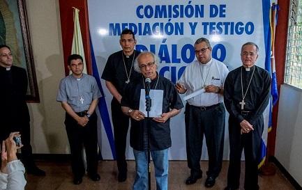 El cardenal Leopoldo Brenes enuncia las condiciones para el diálogo nacional