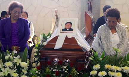 Funeral de uno de los últimos sacerdotes asesinados en México