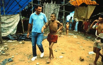 En el pasado otras epidemias como esta ya mataron al 20 por ciento de los Yanomami en Brasil (Foto Antonio Ribeiro-Survival)