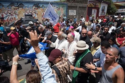 HORA DE SOLIDARIDAD CON LOS OBISPOS DE NICARAGUA AMENAZADOS POR ORTEGA. El presidente sandinista rumbo a un punto sin retorno