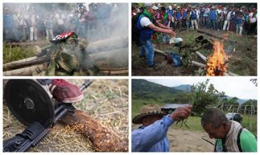 PEQUEÑA Y EJEMPLAR HISTORIA COLOMBIANA. Una comunidad indígena capturó y juzgó a dos guerrilleros del ELN, y los condenó a vivir ocho años en paz y sin armas