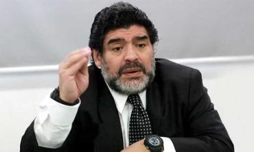 """MARADONA VUELVE A EMPEZAR EN SINALOA. Y elige un pequeño club mexicano para renacer. """"Evo me ofreció la selección boliviana y Maduro la venezolana"""""""