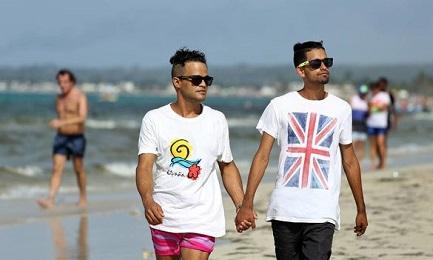 Una playa cerca de La Habana, lugar de encuentro de la comunidad gay (Alejandro Ernesto-EFE)