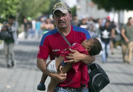 LA CARAVANA DE LA ESPERANZA. ¿Qué ocurriría si todos los emigrantes se unieran y marcharan juntos hacia la frontera con Estados Unidos? Lo estamos viendo en estos días…